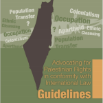 Advocating for Palestinian Rights in conformity with International Law: Guidelines
