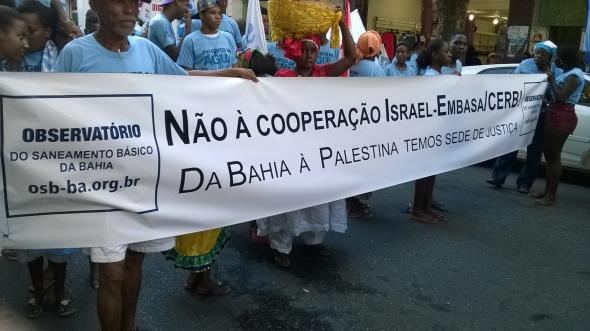 Campaigners in Bahia, Brazil, succeeded in getting the state authorities to end its collaboration with Israeli water company Mekorot