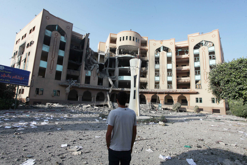 Israel bombs Islamic University and Schools in Gaza: BDS Now!   BDS Movement