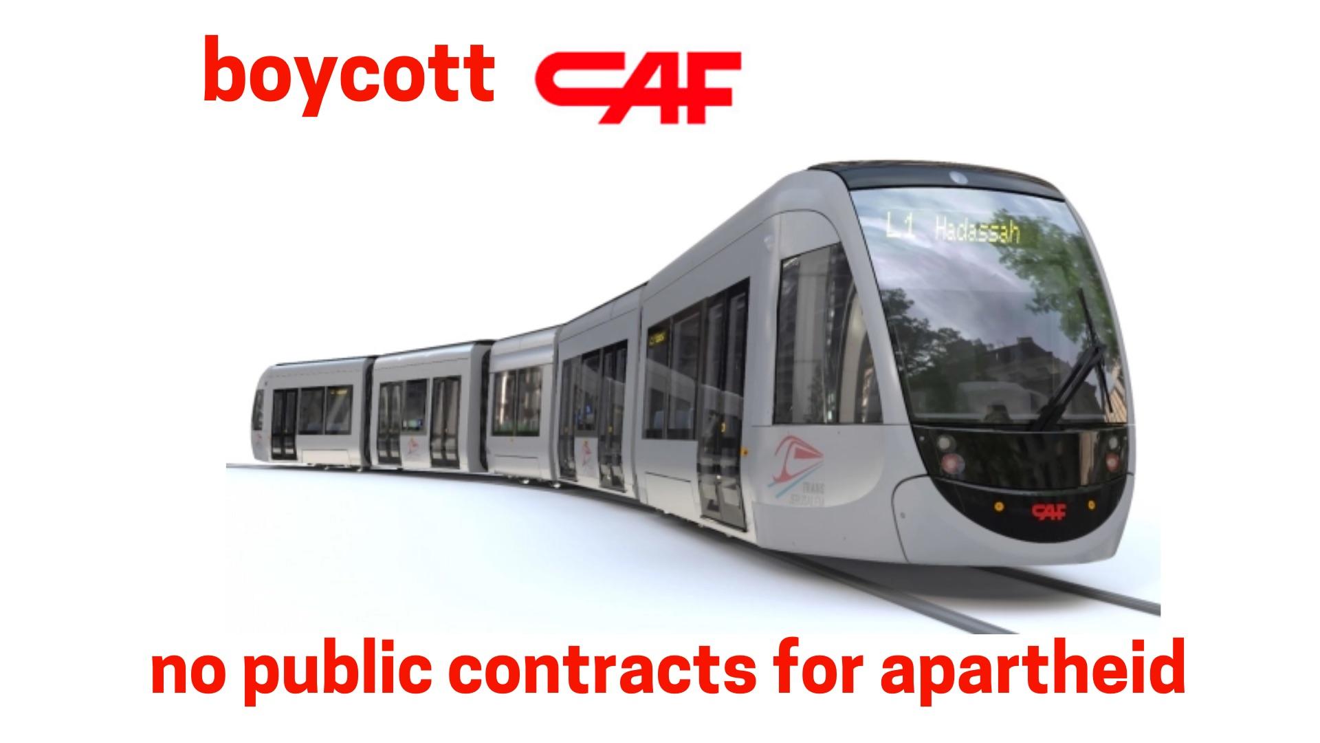 No public contracts for apartheid