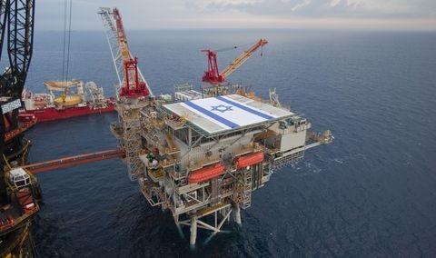 Israel gas field Tamar