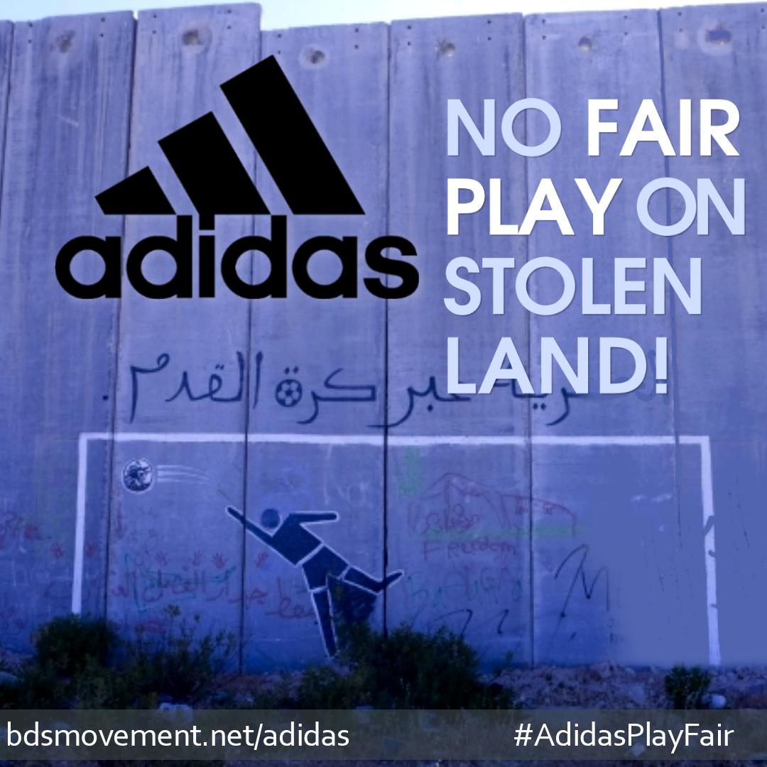 Detto adidas: fair play sul furto di terra bds circolazione