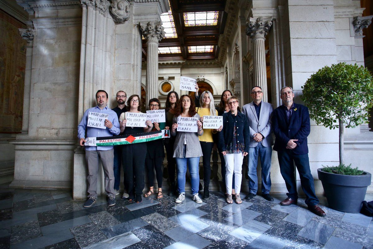 Barcelona City Council calls for military embargo on Israel
