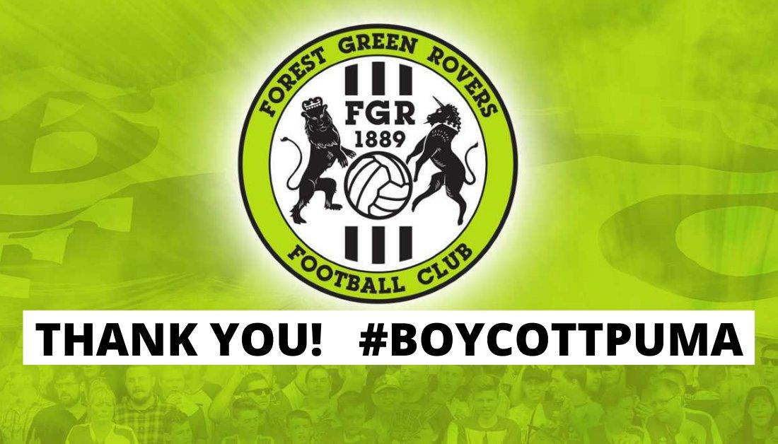 Forest Green Rovers FC Pledges to Boycott Puma