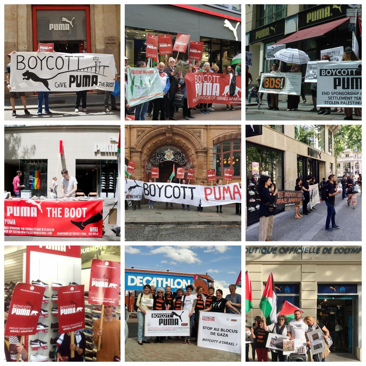 Boycott Puma Global Day of Action