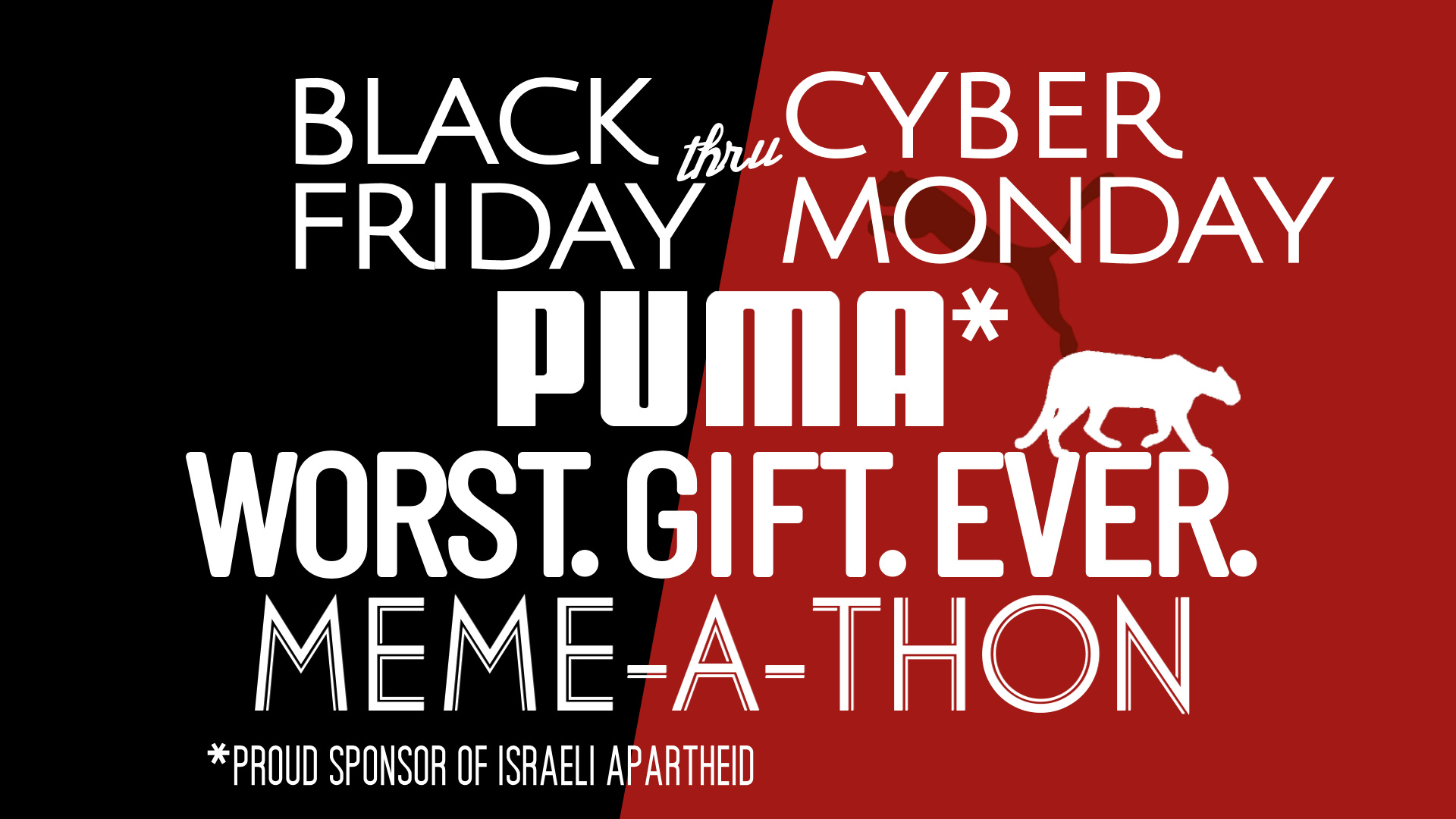 """Join the Puma """"Worst. Gift. Ever."""" Meme-a-Thon"""