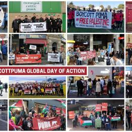 Second Boycott Puma Global Day of Action
