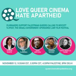 Love Queer Cinema. Hate Apartheid.