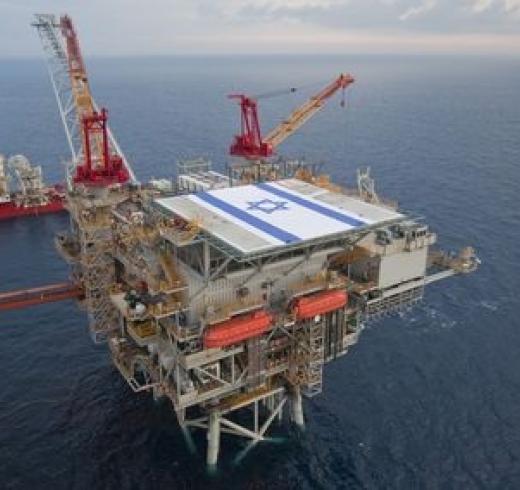 Israeli gas fied