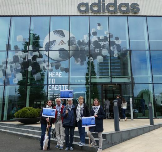 Adidas no longer sponsoring football clubs in illegal Israeli settlements on stolen Palestinian land