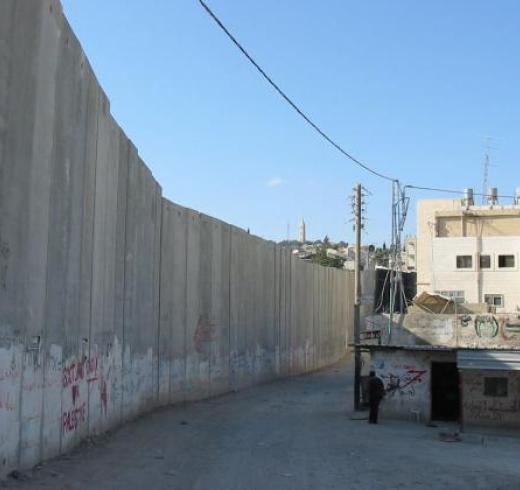 Apartheid Wall. Creator: Photo RNW.org. Credit: Creative Commons License