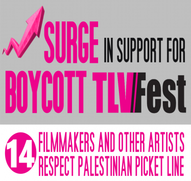 Surge in support for boycott of TLVFest