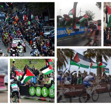 Giro d'Italia protests