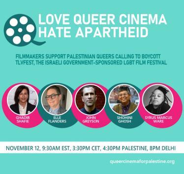 Love Queer Cinema. Hate Apartheid.