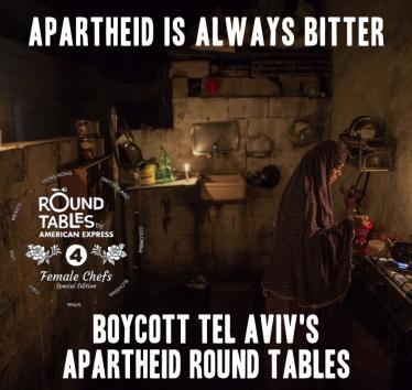 Boycott Apartheid Round Tables in Tel Aviv