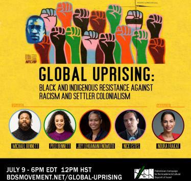 Global Uprising: Webinar with Michael Bennett, Pele Bennett, Joy Lehuanani Enomoto and Nick Estes
