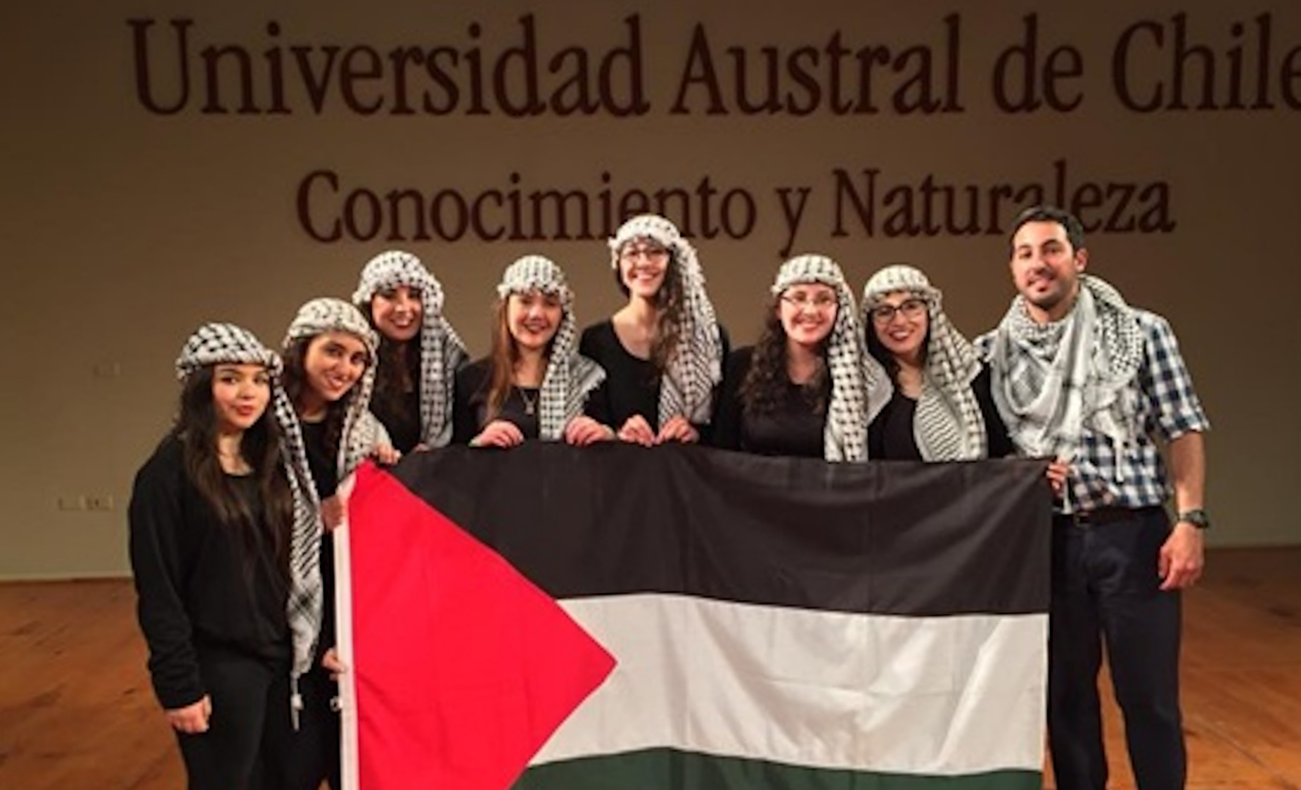 Student Federation of the Austral University of Chile (FEUACh) declares itself an Israeli Apartheid Free Zone